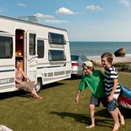 Caravan gezin