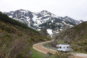 een camper of caravan